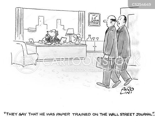 wall street journal cartoon
