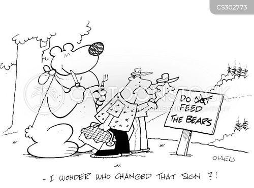 hamper cartoon