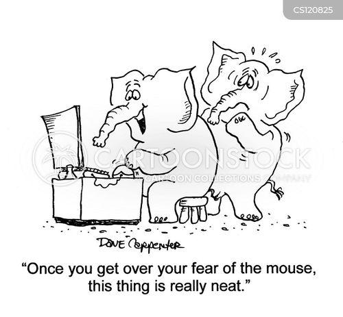 computer user cartoon
