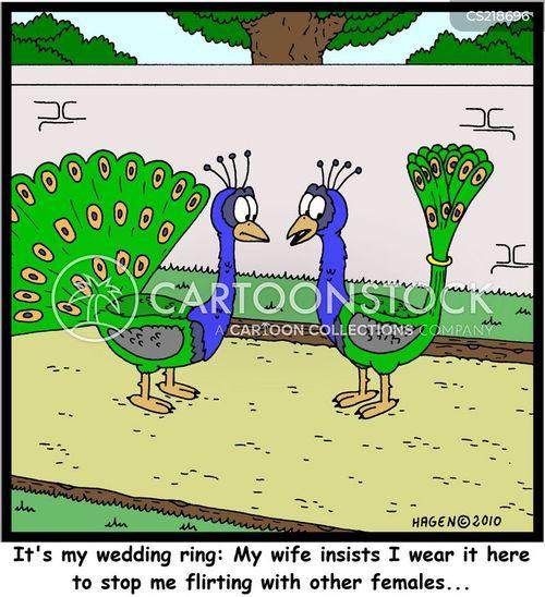 Possessive wife