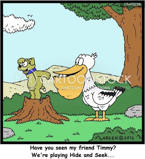 seekers cartoon
