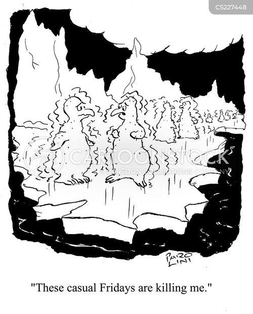 shivering cartoon