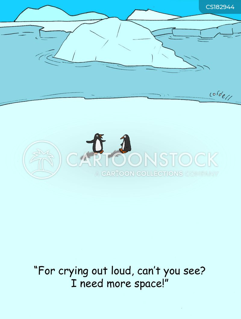 iceberg cartoon