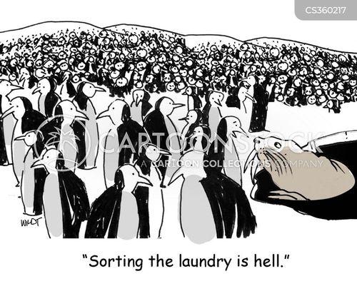 domestic tasks cartoon