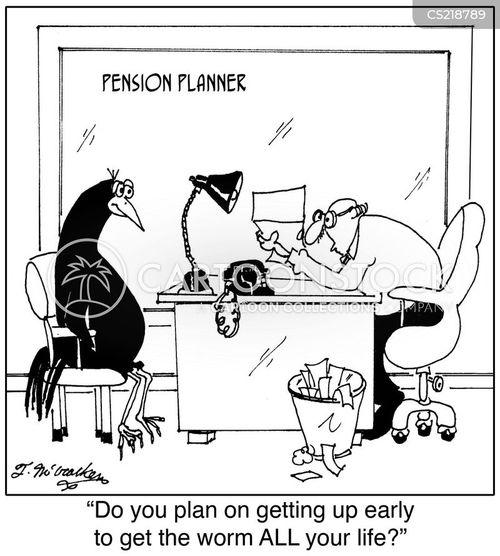 the early bird cartoon