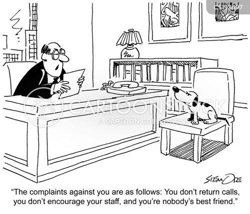 annual review cartoon
