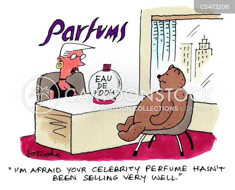 eau de toilette cartoon