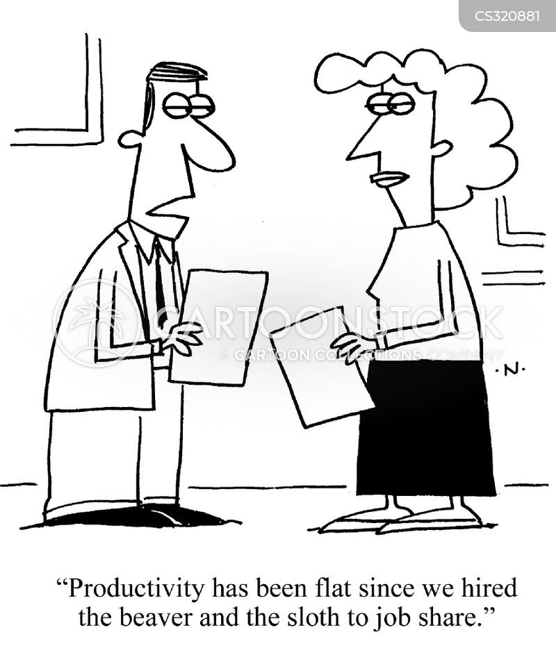 productivity reports cartoon