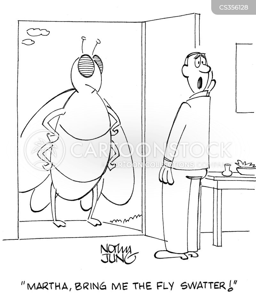 giant bugs cartoon