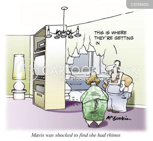 exterminations cartoon
