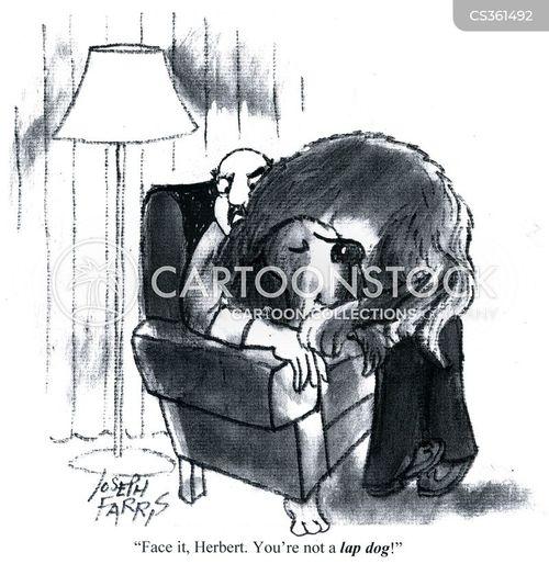 curled up cartoon