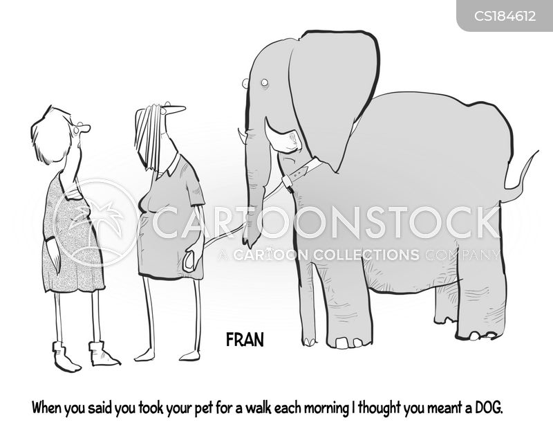unconventional cartoon
