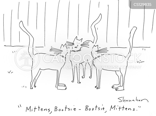 mittens cartoon