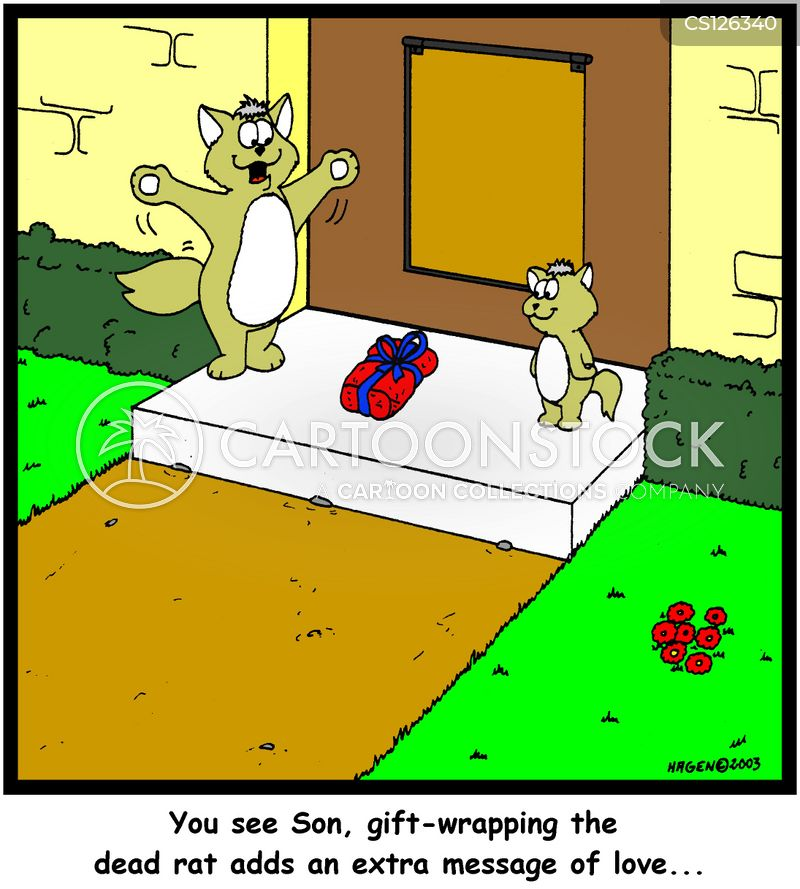 giftwrap cartoon
