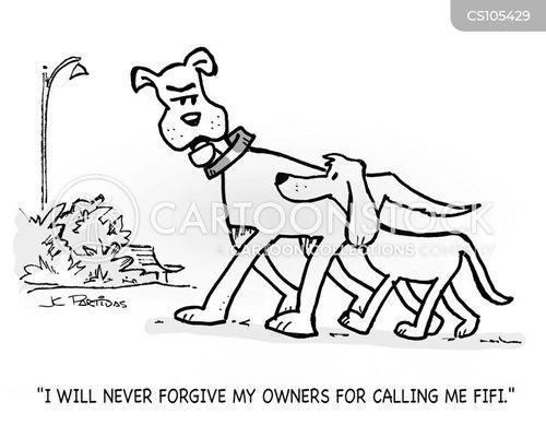 holding grudges cartoon