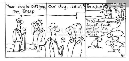 environmental change cartoon