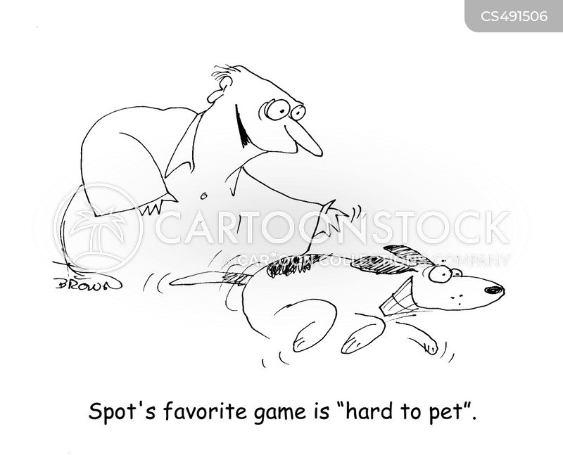 petted cartoon