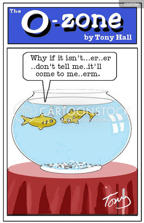 golf fishes cartoon