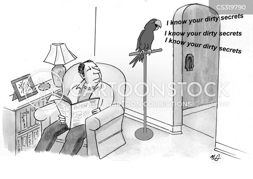 blackmailed cartoon