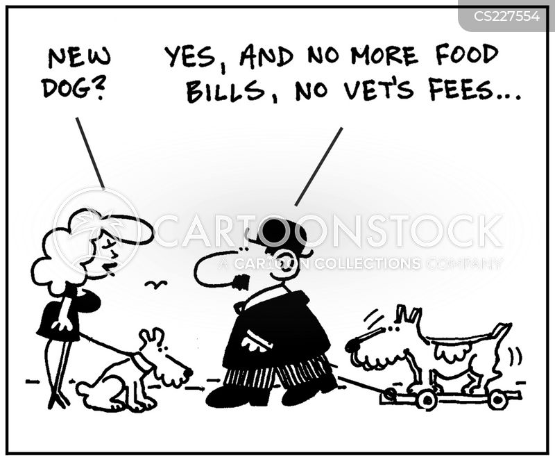 foot bills cartoon