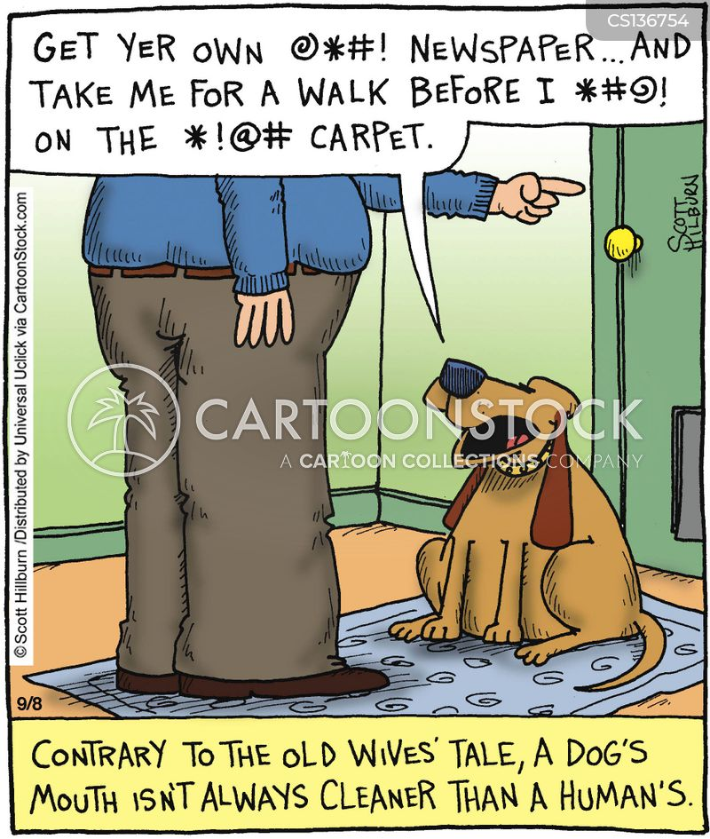 disobedient dogs cartoon