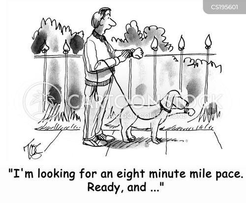 walk the dog cartoon