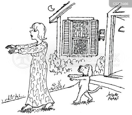 sleepwalker cartoon