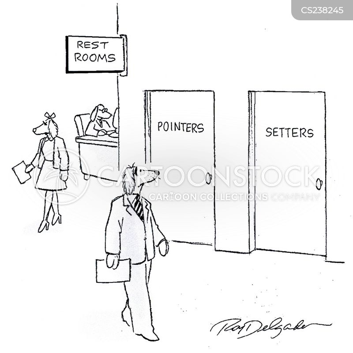 setter cartoon