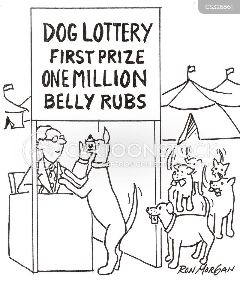 belly rub cartoon
