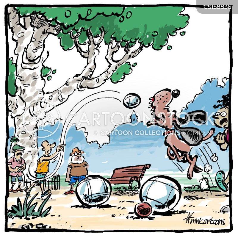 Petanque Cartoons And Comics Funny Pictures From