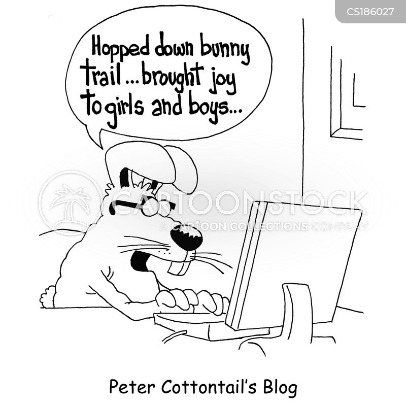 bunny trail cartoon