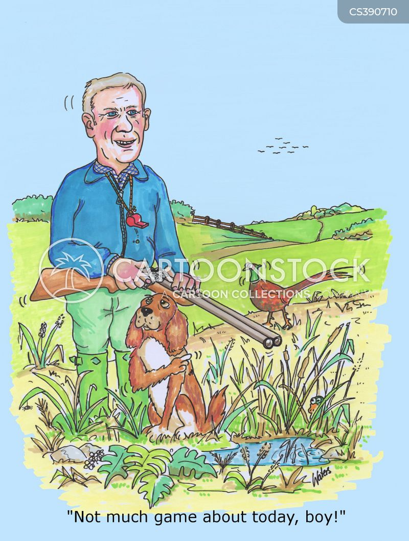 gamekeepers cartoon