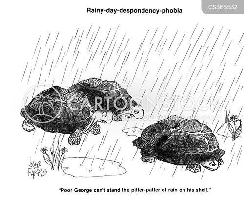 despondent cartoon