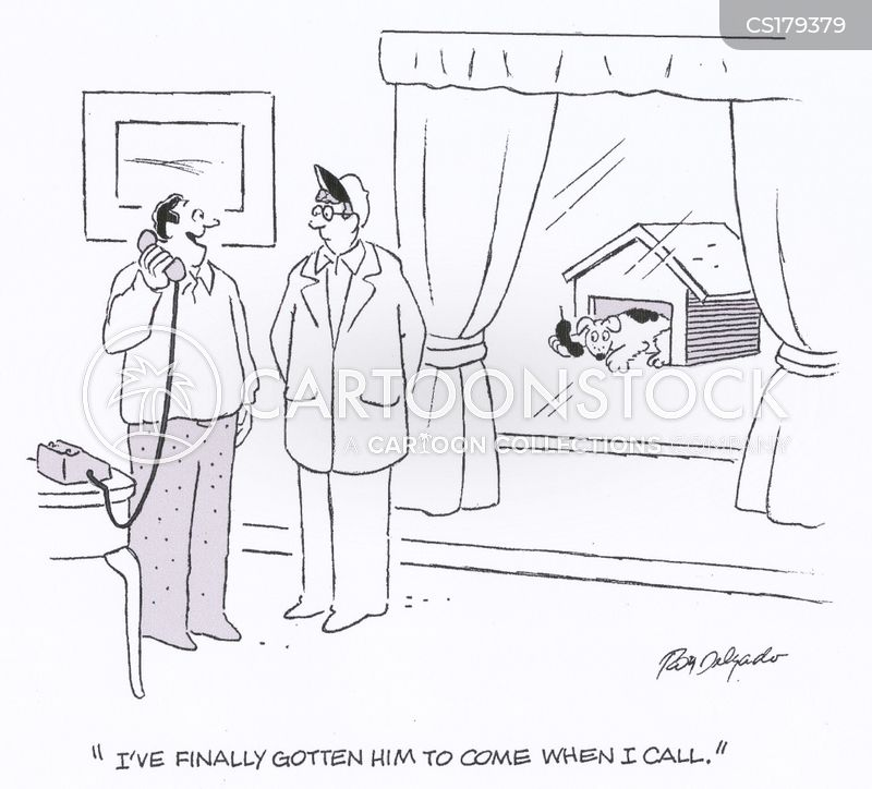 callers cartoon