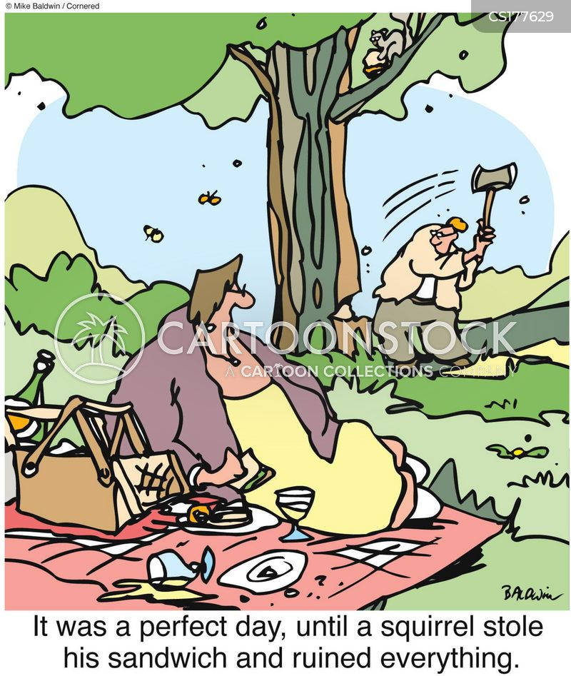 Picknick Cartoon, Picknick Cartoons, Picknick Bild, Picknick Bilder, Picknick Karikatur, Picknick Karikaturen, Picknick Illustration, Picknick Illustrationen, Picknick Witzzeichnung, Picknick Witzzeichnungen