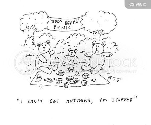 tea parties cartoon