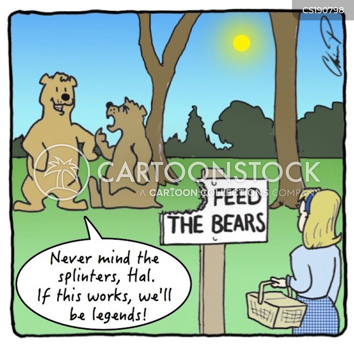 picnicking cartoon