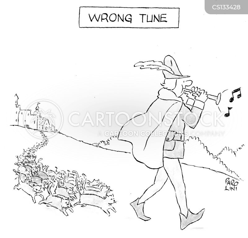 the pied piper cartoon