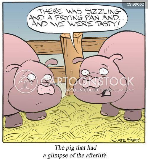frying pan cartoon