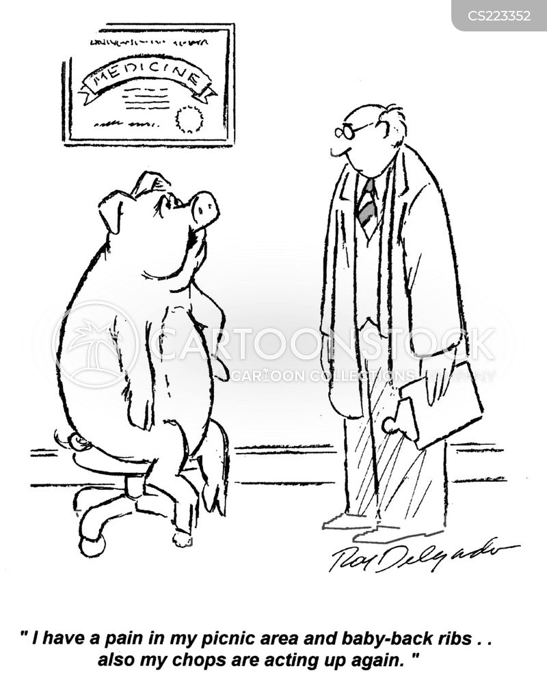 ribs cartoon