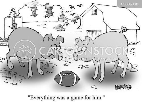 animal products cartoon