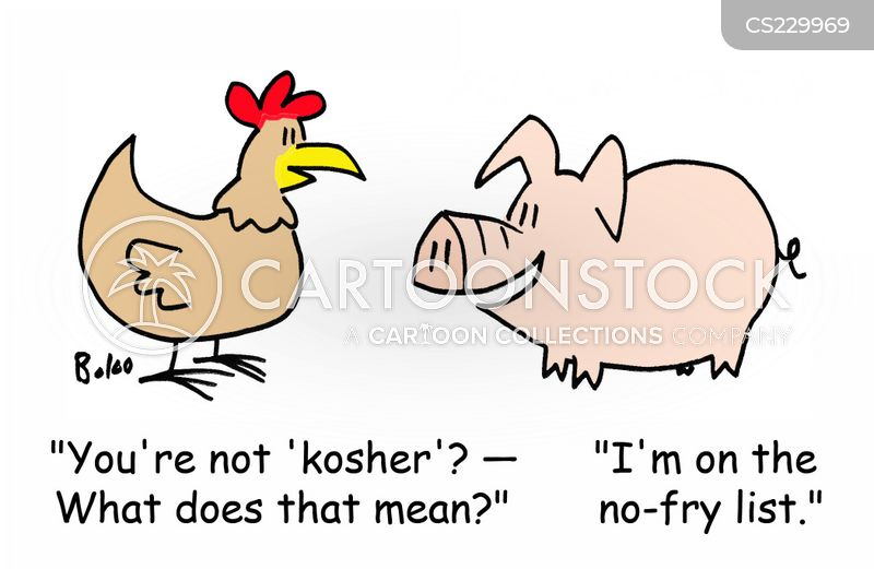 Kosher Food Cartoons and Comics - funny pictures from