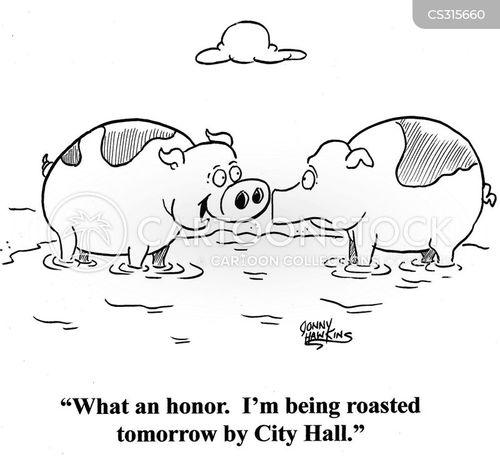 city hall cartoon