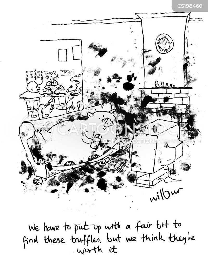 filth cartoon