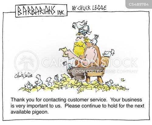 pigeon messengers cartoon