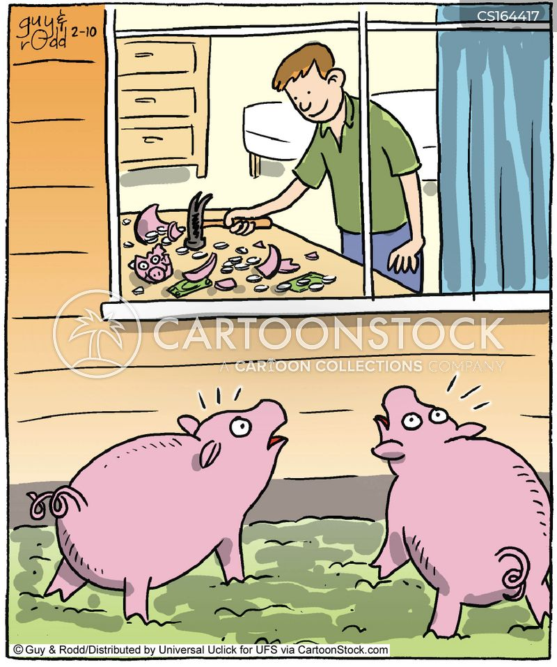 Pig Cartoons And Comics Funny Pictures From Cartoonstock