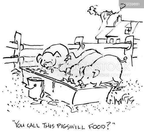 pigsties cartoon