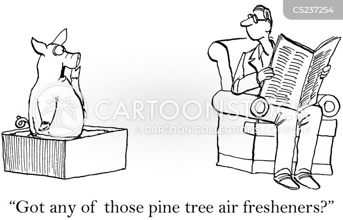 olfactory cartoon