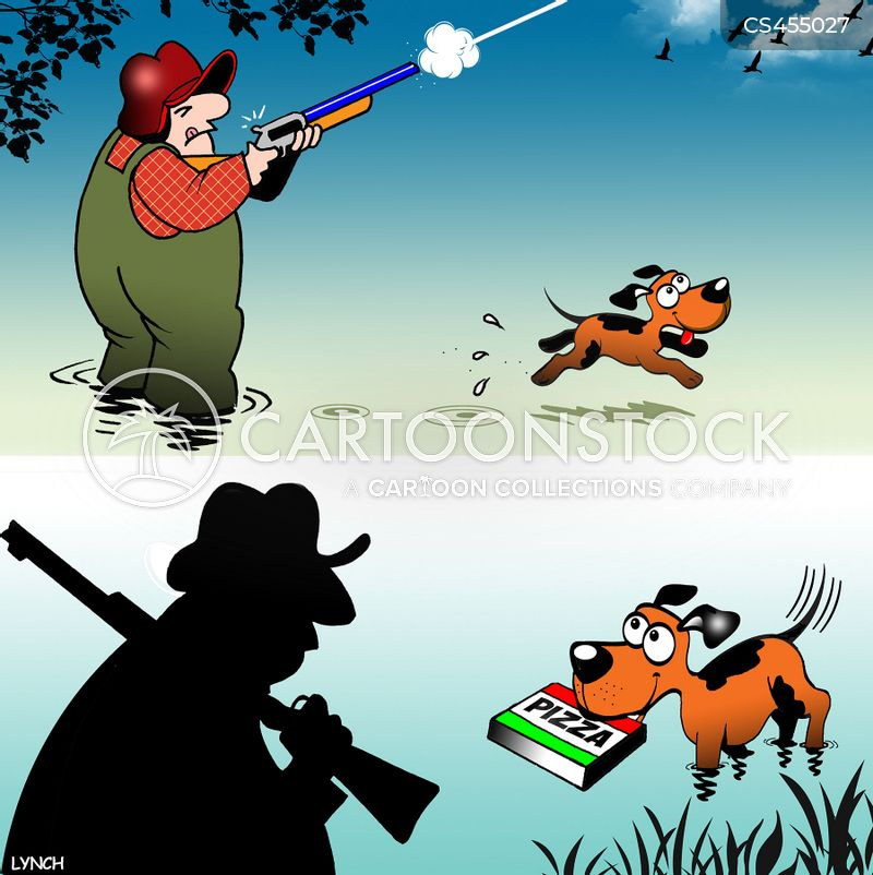 duck shoot cartoon