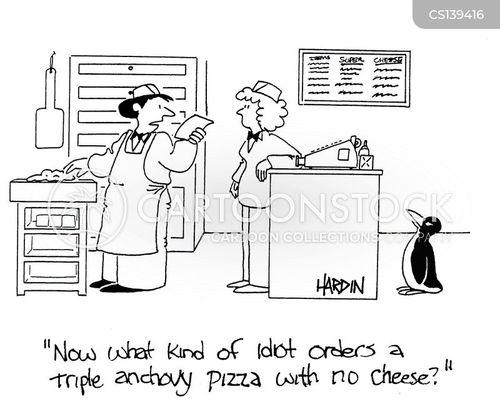 anchovies cartoon